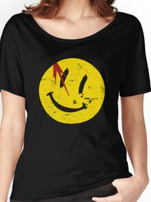 Watchmen Symbol Smile Vintage Women's Relaxed Fit T-Shirt