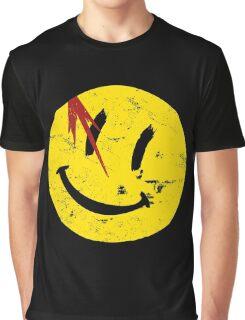 Watchmen Symbol Smile Vintage Graphic T-Shirt