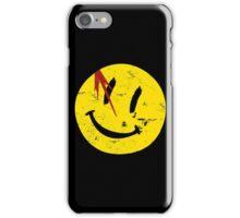 Watchmen Symbol Smile Vintage iPhone Case/Skin