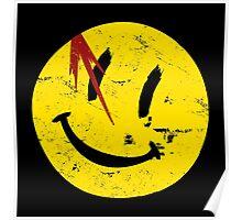 Watchmen Symbol Smile Vintage Poster