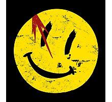 Watchmen Symbol Smile Vintage Photographic Print