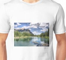 Mount Lorette Ponds, Kananaskis Country Unisex T-Shirt