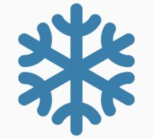 Snowflake / Fiocco Di Neve / Flocon De Neige (Blue) by MrFaulbaum