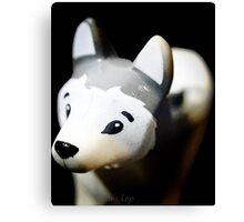 Lego Siberian Husky  Canvas Print