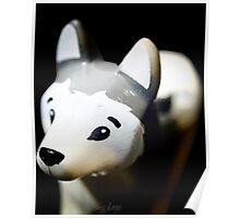 Lego Siberian Husky  Poster