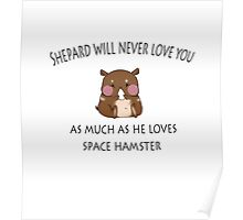 Space Hamster Poster