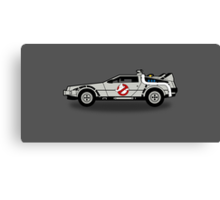 Ghostbusters To The Future! Canvas Print