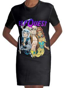 Modern trio Graphic T-Shirt Dress