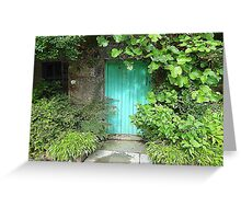 The Turquoise Door Greeting Card
