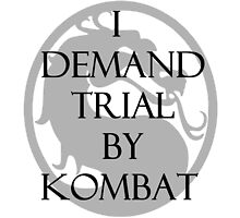 Trial by Kombat by MikeJustGaming