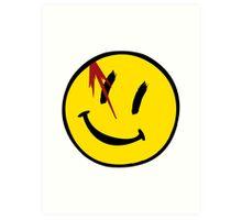 Watchmen Symbol Art Print