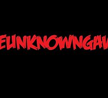 TheUnknownGavin red on black by TheUnknownGavin