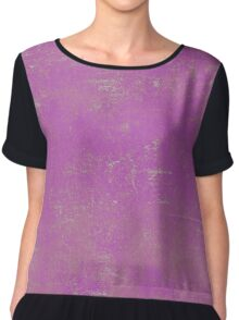 Abstract Colorful Style Chiffon Top