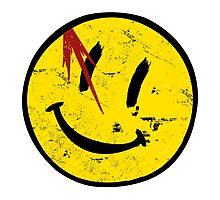 Watchmen Symbol Vintage Photographic Print