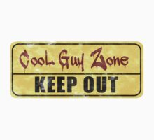 Cool Guy Zone  by canossagraphics