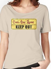 Cool Guy Zone  Women's Relaxed Fit T-Shirt