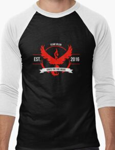 Team Valor Design 1 Men's Baseball ¾ T-Shirt