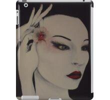 Geisha/maiko-preparing in anticipation  iPad Case/Skin