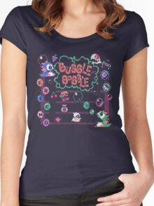 Bobble Bubble Women's Fitted Scoop T-Shirt