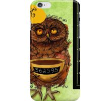 What my #Coffee says to me - August 27, 2013 iPhone Case/Skin