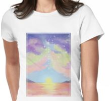 so far away Womens Fitted T-Shirt