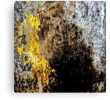 Gold Erosion Canvas Print