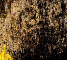 Gold Erosion Sticker