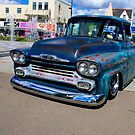 chevy pick up - down the seafront  by Perggals© - Stacey Turner