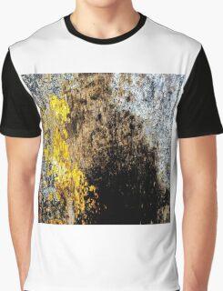 Gold Erosion Graphic T-Shirt