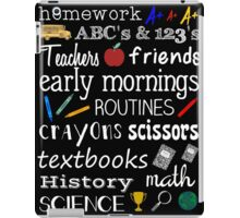 School Days iPad Case/Skin