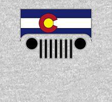 Colorado Flag Jeep Logo Unisex T-Shirt