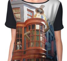 Wesley's Wizard Wheezes  Chiffon Top