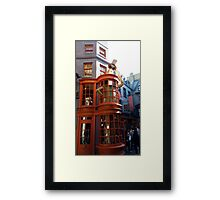 Wesley's Wizard Wheezes  Framed Print