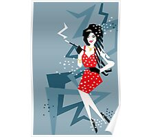 Cartoon Amy Poster