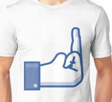 Facebook Fuck Unisex T-Shirt