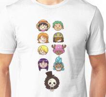 One Piece Mugiwara Crew Chibi Unisex T-Shirt