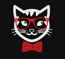 Hipster Nerd Cat - Humor Funny T Shirt Classic T-Shirt