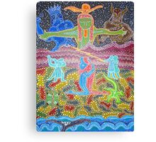 Origin of Love Canvas Print