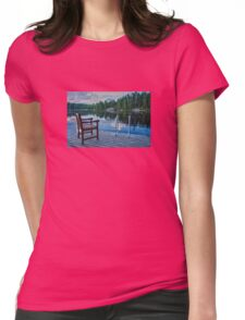 Wild swimming Womens Fitted T-Shirt