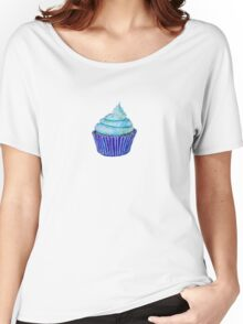 Blue Cupcakes Women's Relaxed Fit T-Shirt