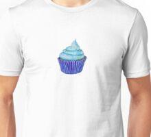 Blue Cupcakes Unisex T-Shirt