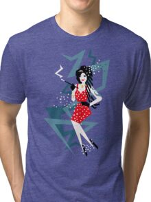 Cartoon Amy Tri-blend T-Shirt