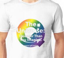 QSF Universe Logo - Transparent Unisex T-Shirt