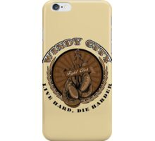 WINDY CITY FIGHT CLUB iPhone Case/Skin