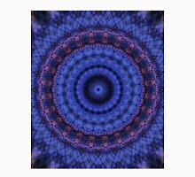 Mandala in pink and blue colors Unisex T-Shirt