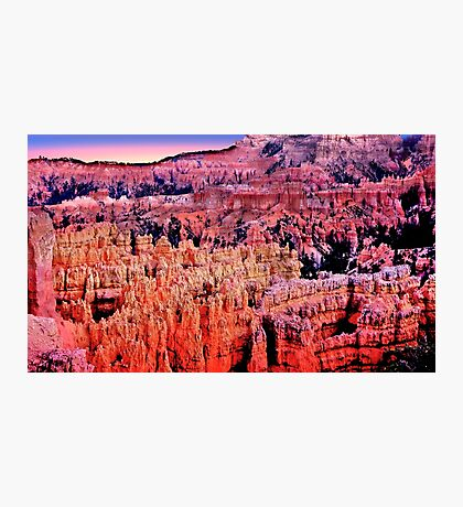 Bryce Canyon, Sunset Point Photographic Print