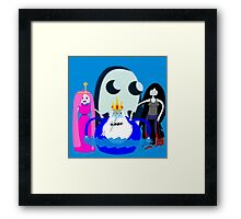 The King of Ice Framed Print