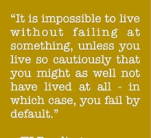 JK Rowling Quote by mlny87