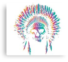 Skull Chief Canvas Print
