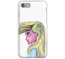What if Ariel was blonde? iPhone Case/Skin